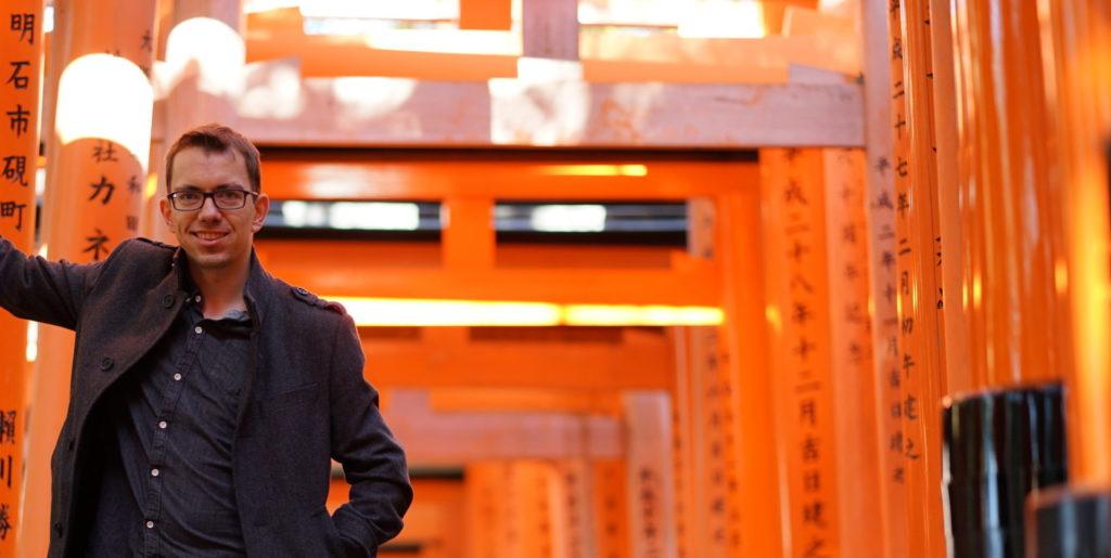 Maik Ter in Kyoto Japan