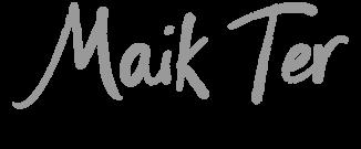 Maik Ter - official website